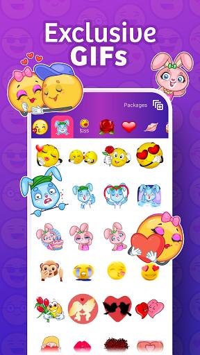 WhatsLov: love stickers, GIF & emoji WAStickerApps स्क्रीनशॉट 3