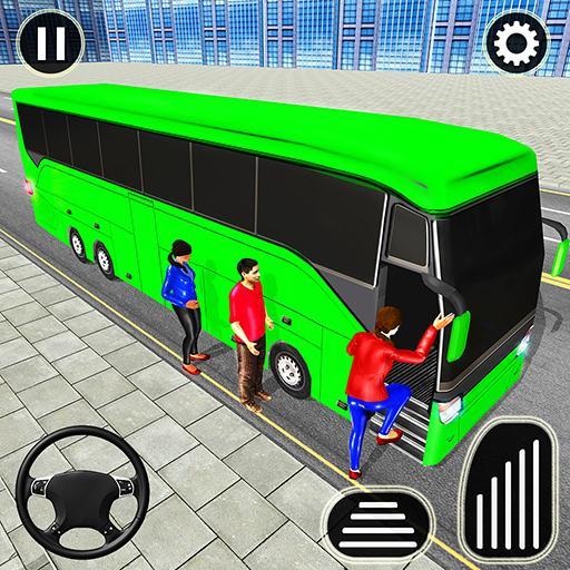 Bus Spiele 2021 Fahrspiel Mega Bus durch die Stadt icon