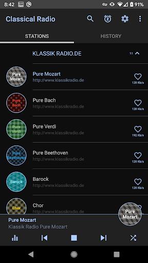 Classical Music Radio screenshot 1