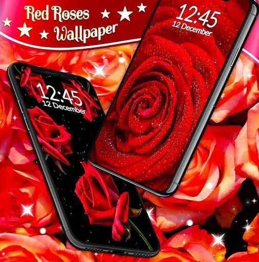 Red Rose Live Wallpaper 🌹 Flowers 4K Wallpapers screenshot 5