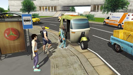 Tuk Tuk Rickshaw City Driving Simulator 2020 screenshot 5