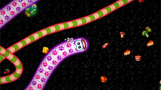 เวิร์มโซน.io - งูจอมตะกละ screenshot 1