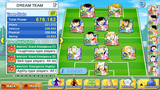 Captain Tsubasa: Dream Team screenshot 5