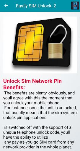 Reset Code Any Mobile and Sim Unlock Guide screenshot 8