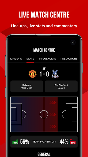 Manchester United Official App स्क्रीनशॉट 3