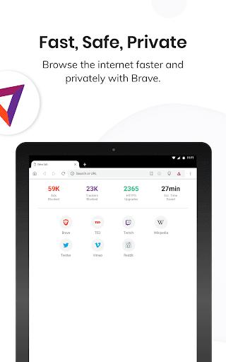 Brave Browser: szybka, bezpieczna, prywatna screenshot 11