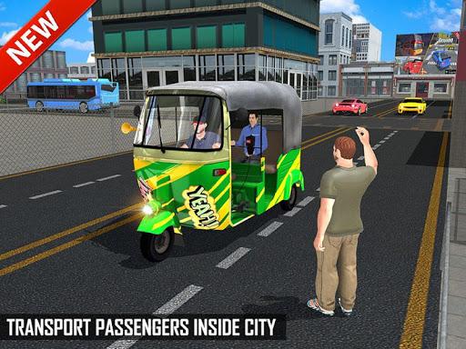 Tuk Tuk Auto Rickshaw Offroad Driving Games 2020 screenshot 10