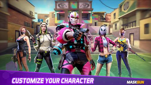 MaskGun - Online multiplayer FPS shooting gun game screenshot 2