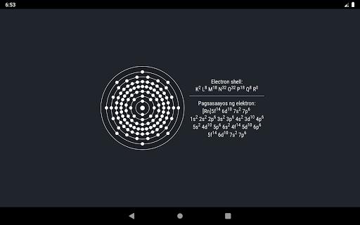 Periodic Table 2021 - Kimika screenshot 16