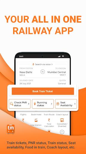 Train Ticket Booking App for IRCTC: Train man screenshot 2