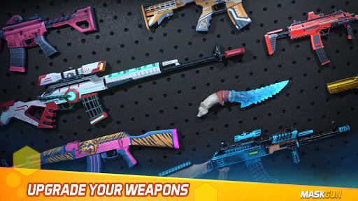 MaskGun - Online multiplayer FPS shooting gun game screenshot 3
