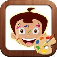 Draw & Color Chhota Bheem on 9Apps