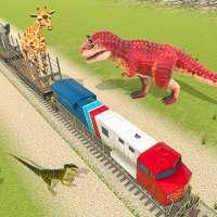 Train Simulator 2021: Rescue Dinosaur Transport on APKTom