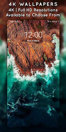 4K Wallpapers - Auto Wallpaper Changer screenshot 2