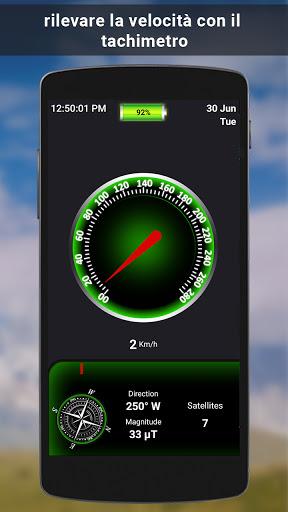 GPS satellite - terra mappe & voce navigazione screenshot 7
