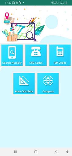 Mobile Number Location : Area Calculator & Compass screenshot 4