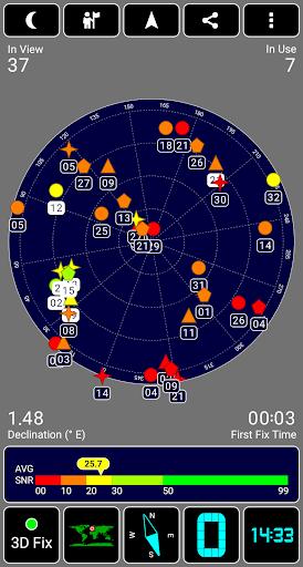 GPS Test screenshot 2