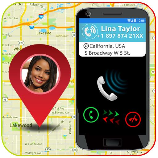 Mobile Number Location : Area Calculator & Compass icon