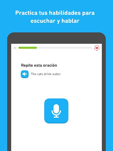 Duolingo - Aprende inglés y otros idiomas gratis screenshot 9