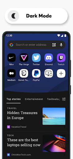 เบราว์เซอร์ Opera ที่มี VPN ฟรี screenshot 5