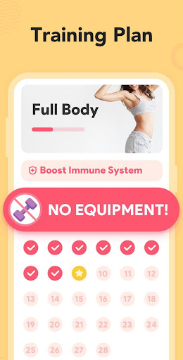 Workout for Women: Fit at Home screenshot 3