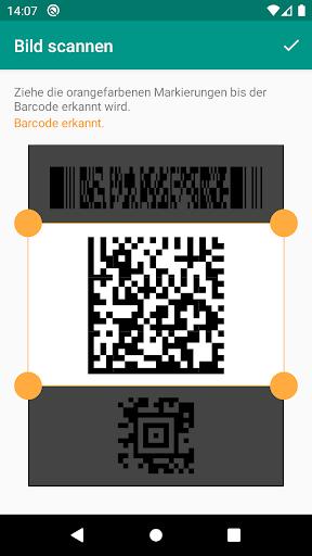 QR & Barcode Scanner (Deutsch) screenshot 4