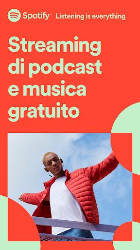 Spotify: musica e podcast screenshot 1