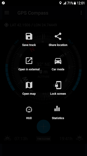 GPS Compass Navigator screenshot 12