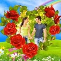 penyunting foto bunga: bingkai, pelekat & kolaj on 9Apps