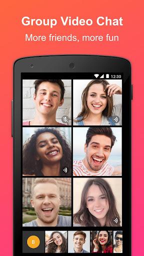 JusTalk - panggilan video dan obrolan video gratis screenshot 4