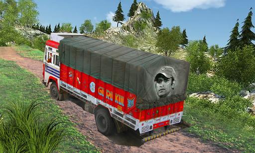 New Offroad Cargo Truck Driving Simulator Game 3D screenshot 3