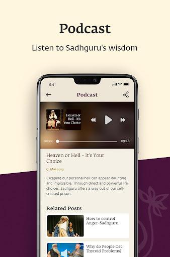 Sadhguru - Yoga, Meditation & Spirituality screenshot 4