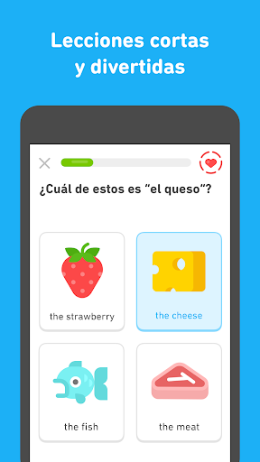 Duolingo - Aprende inglés y otros idiomas gratis screenshot 2