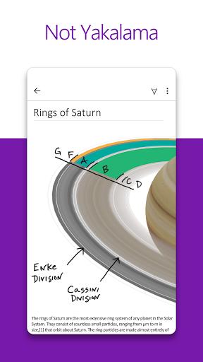 Microsoft OneNote: Fikir Kaydetme ve Not Düzenleme screenshot 1