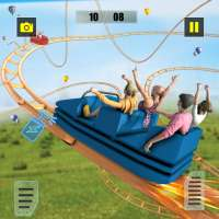 Reckless Roller Coaster Sim: Rollercoaster Games on 9Apps