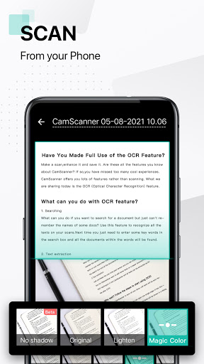 CamScanner-ক্যামস্ক্যানার - স্ক্যানার অ্যাপ ফ্রি screenshot 1