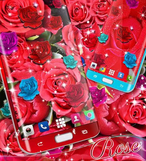 Best rose live wallpaper 2021 screenshot 5