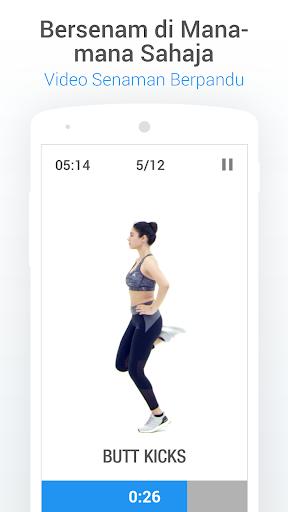 Pedometer - Penjejak Langkah, Kalori & Berat Badan screenshot 4