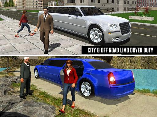 Big City Limo Car Driving Taxi Games screenshot 23