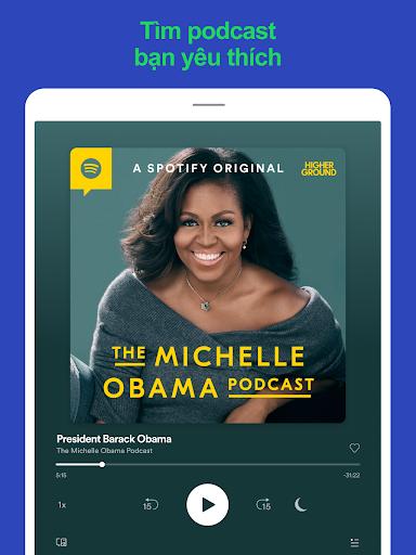 Spotify: Nhạc và podcast screenshot 10