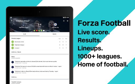 Forza Football - Live soccer scores screenshot 6