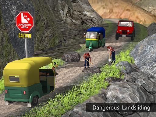 Tuk Tuk Auto Rickshaw Offroad Driving Games 2020 screenshot 18