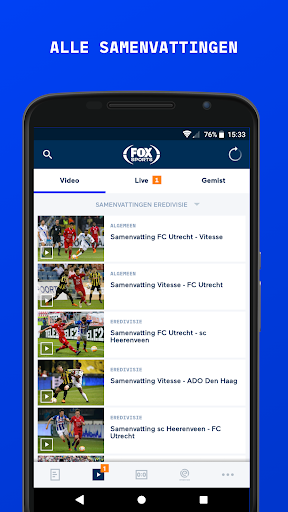 FOX Sports NL screenshot 2