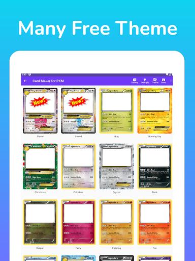 Card Maker for PKM screenshot 10