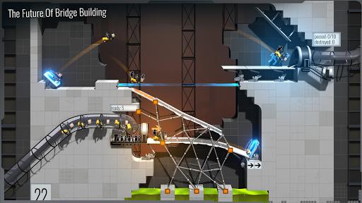 Bridge Constructor Portal screenshot 2