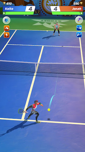 Tennis Clash: Multiplayer Game screenshot 1