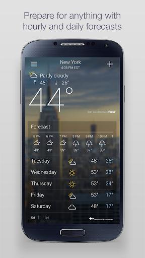 Yahoo Weather screenshot 2