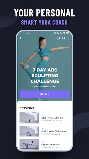Daily Yoga | Fitness Yoga Plan&Meditation App screenshot 4