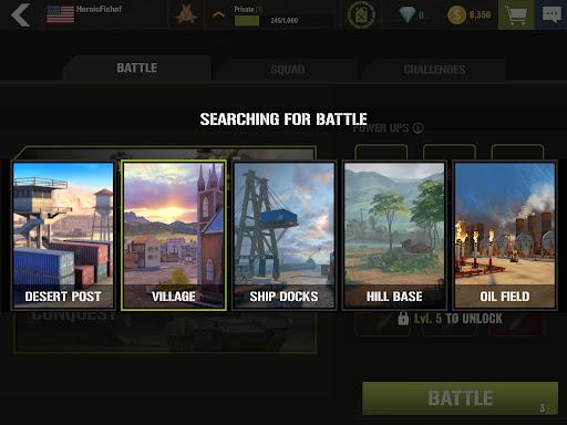 War Machines: Tank Army Game screenshot 15