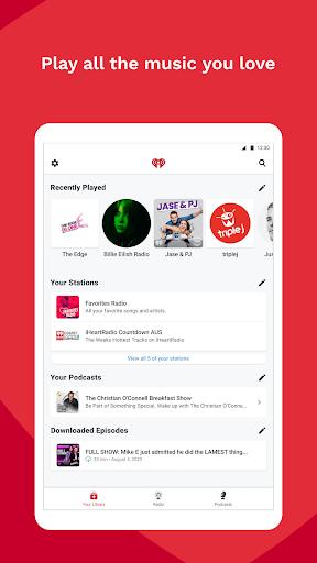 iHeartRadio - Free Music, Radio & Podcasts screenshot 8